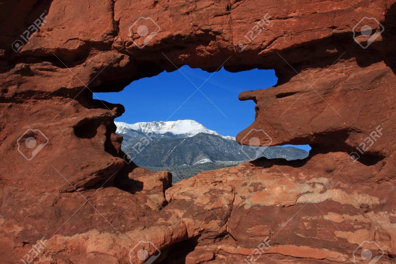 Pico Pikes Enmarcada Fotos, Retratos, Imágenes Y Fotografía De ...