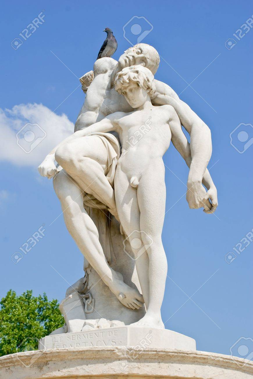 Statue in the Tuileries garden in Paris, France Stock Photo - 5237585