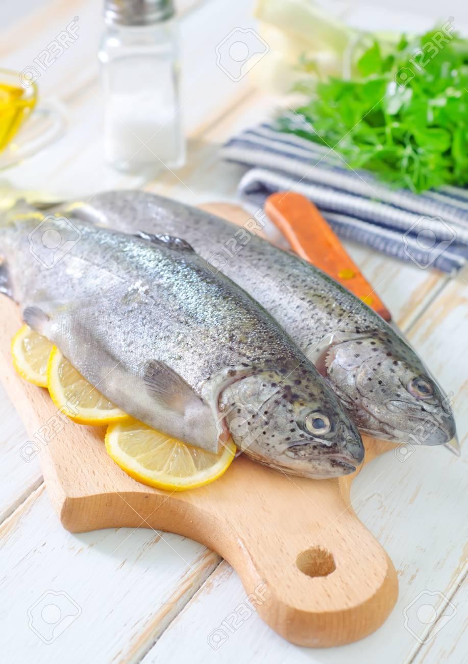 raw fish Stock Photo - 19770462