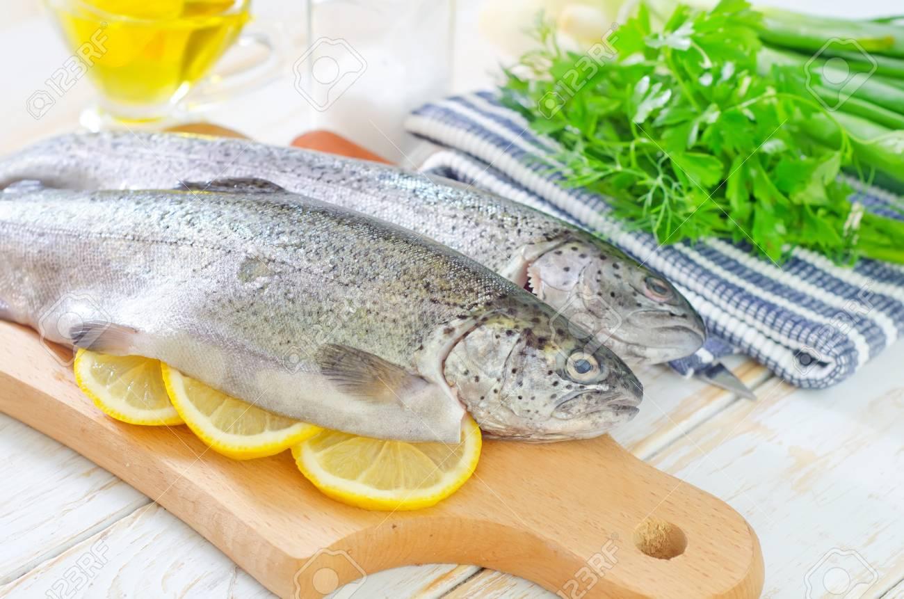 raw fish Stock Photo - 19770477