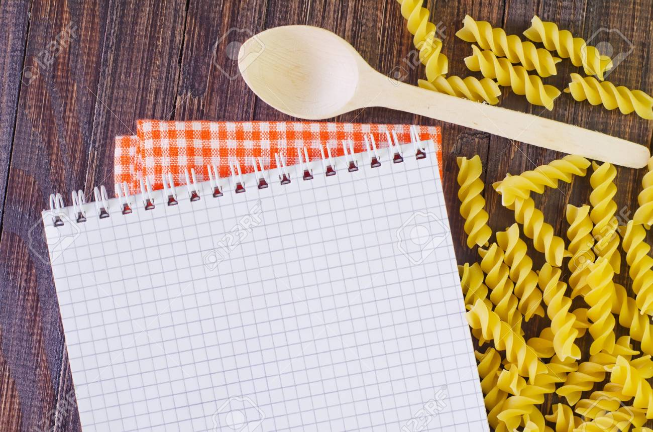 note for recipe Stock Photo - 21329900