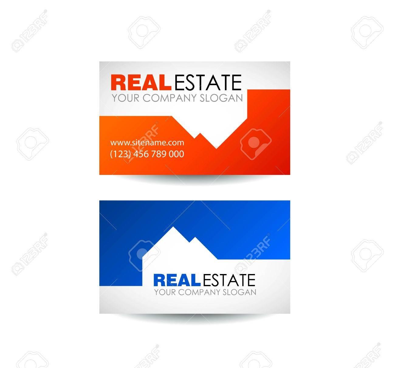 Immobilier Logo Design Business Societe Immobiliere Du
