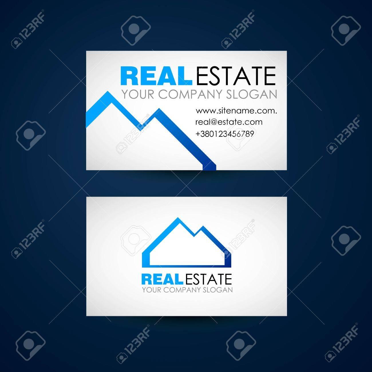 Immobilier Logo Design Business Socit Immobilire Du