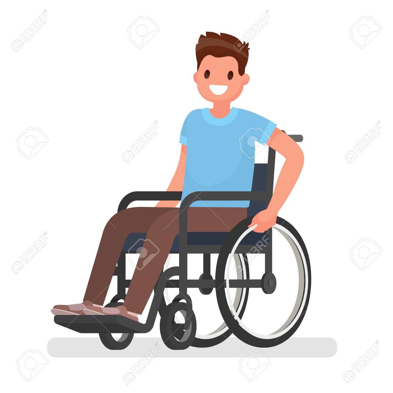 hombre en silla de ruedas dibujo