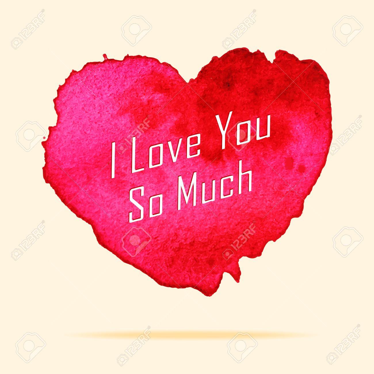 Ich liebe dich so sehr