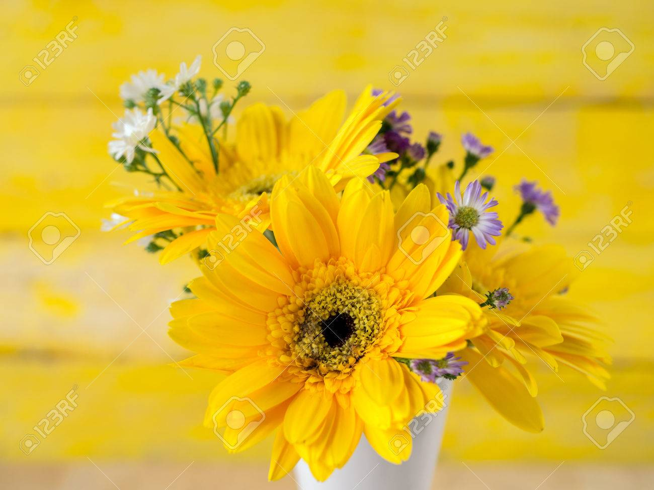 Colorful flowers with colorful backgrounds as well, Love concept, Templates for design. - 82585186