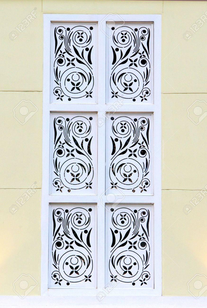 Retro stencil windows style stock photo 18439689