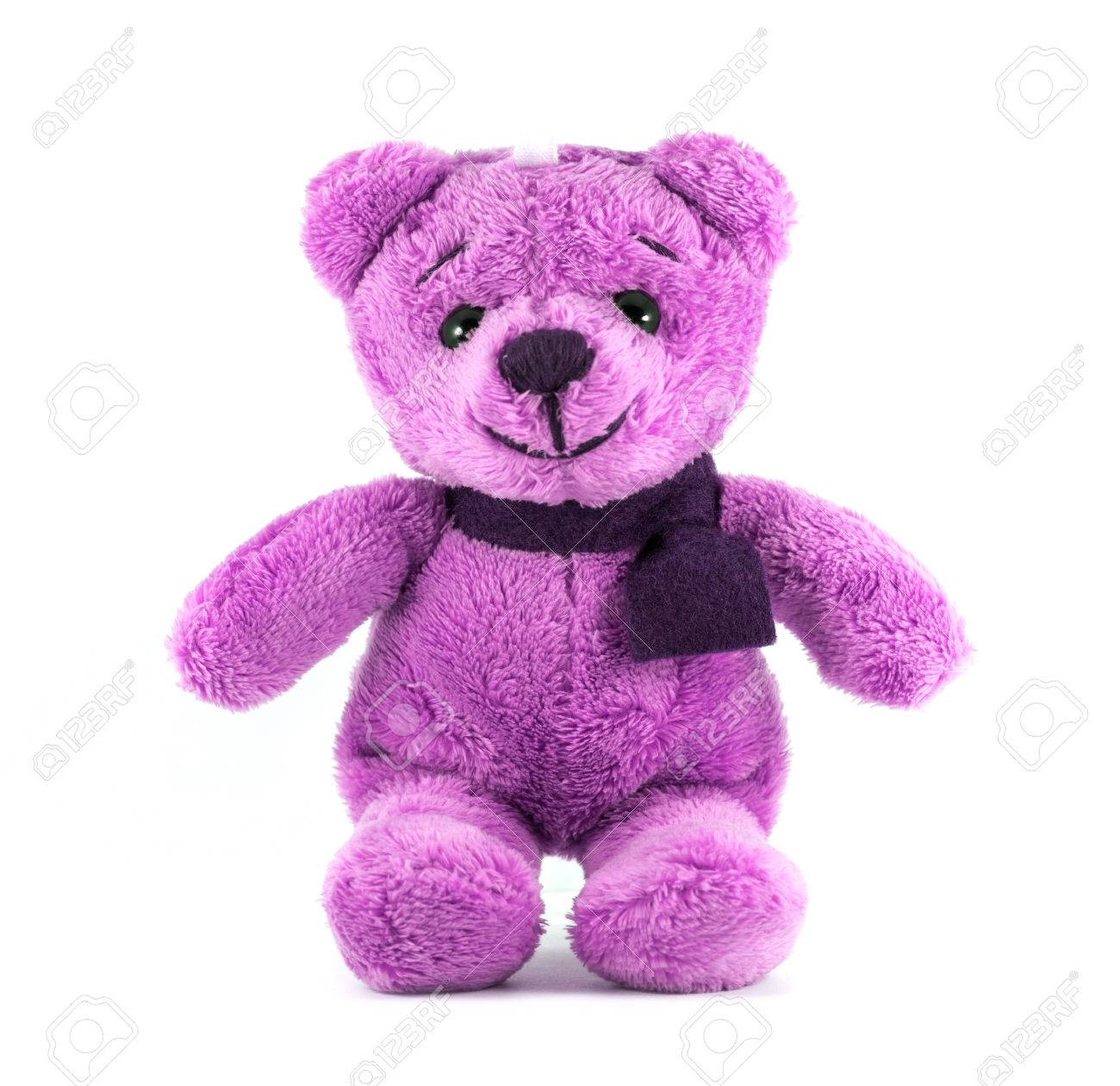 Image result for teddy bear with purple scarf