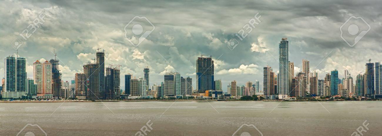 Vista della città di Panama Archivio Fotografico - 11583406 47736a04a501