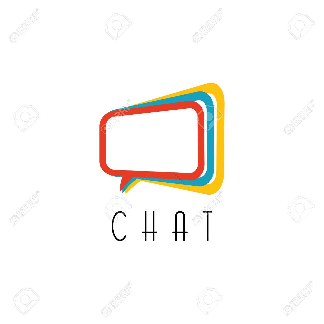 Chat logo. talking concept, idea communication technology sign - 38977882