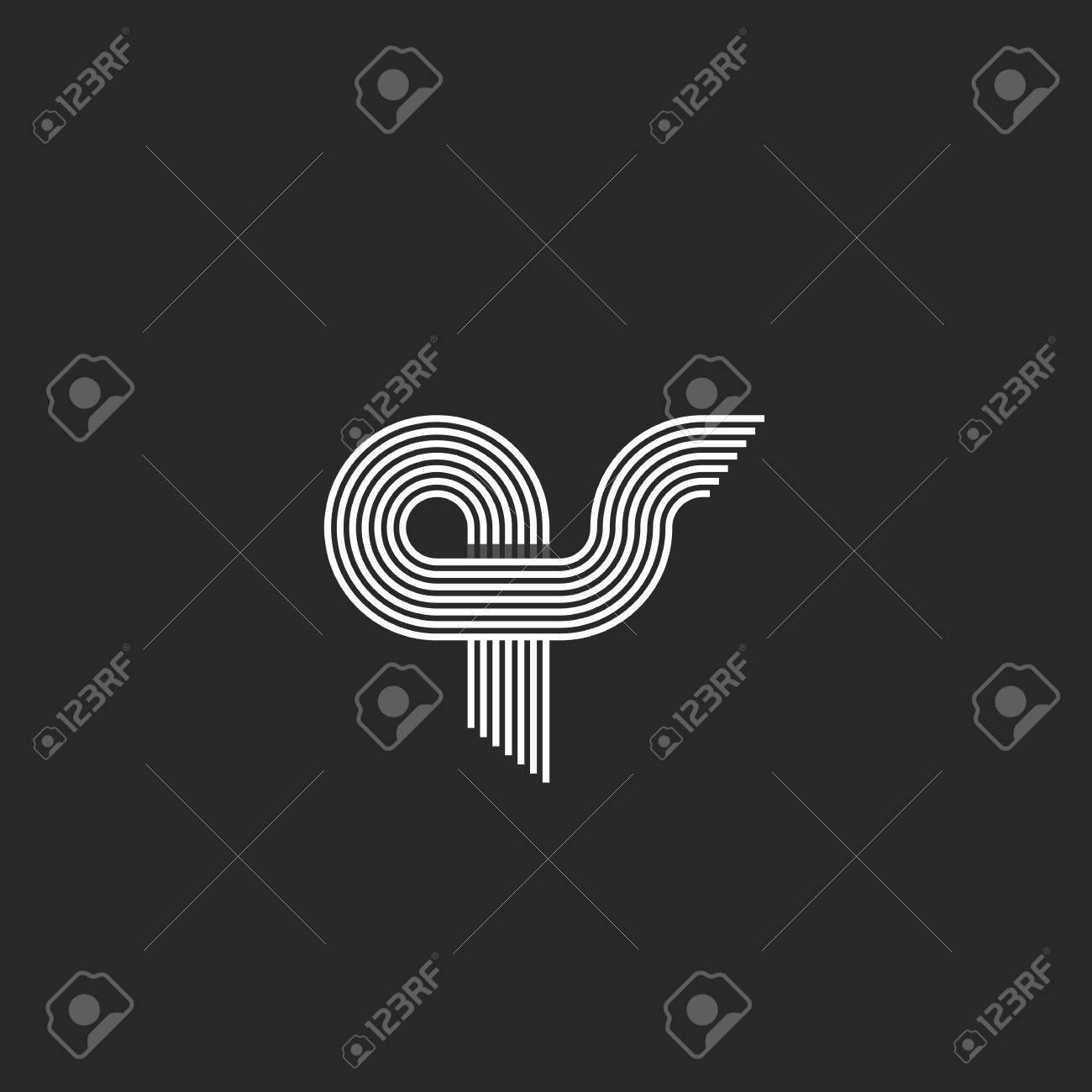 Letters Qs Intersection Combs Geometric Shape Pair Q S Letters