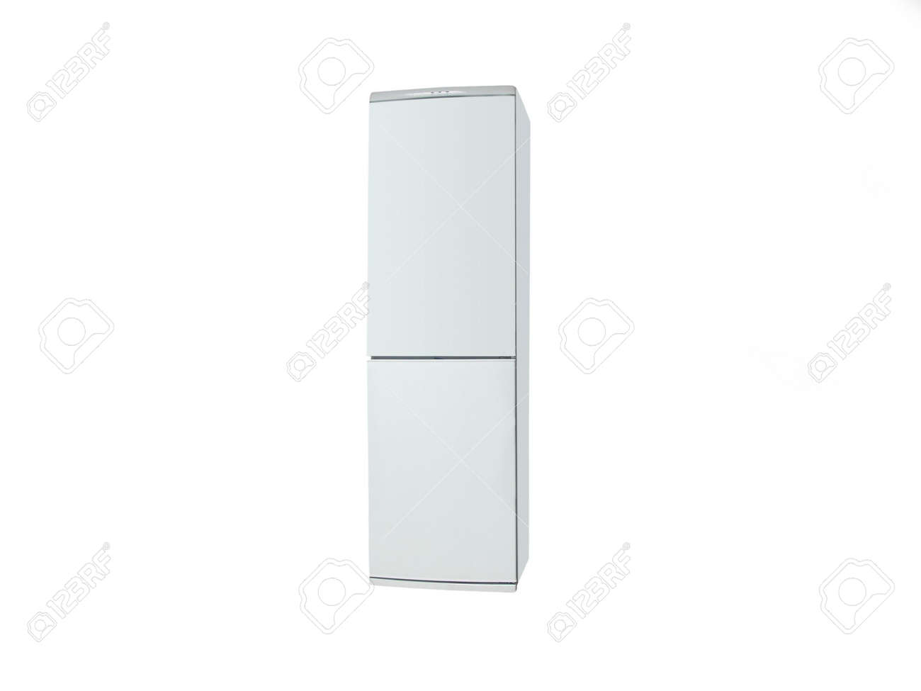 The image of refrigerator under the white background Stock Photo - 6183107