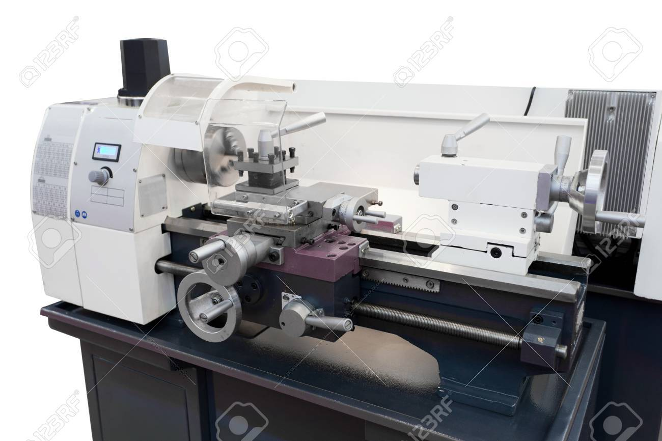 The image of a lathe Stock Photo - 16638428