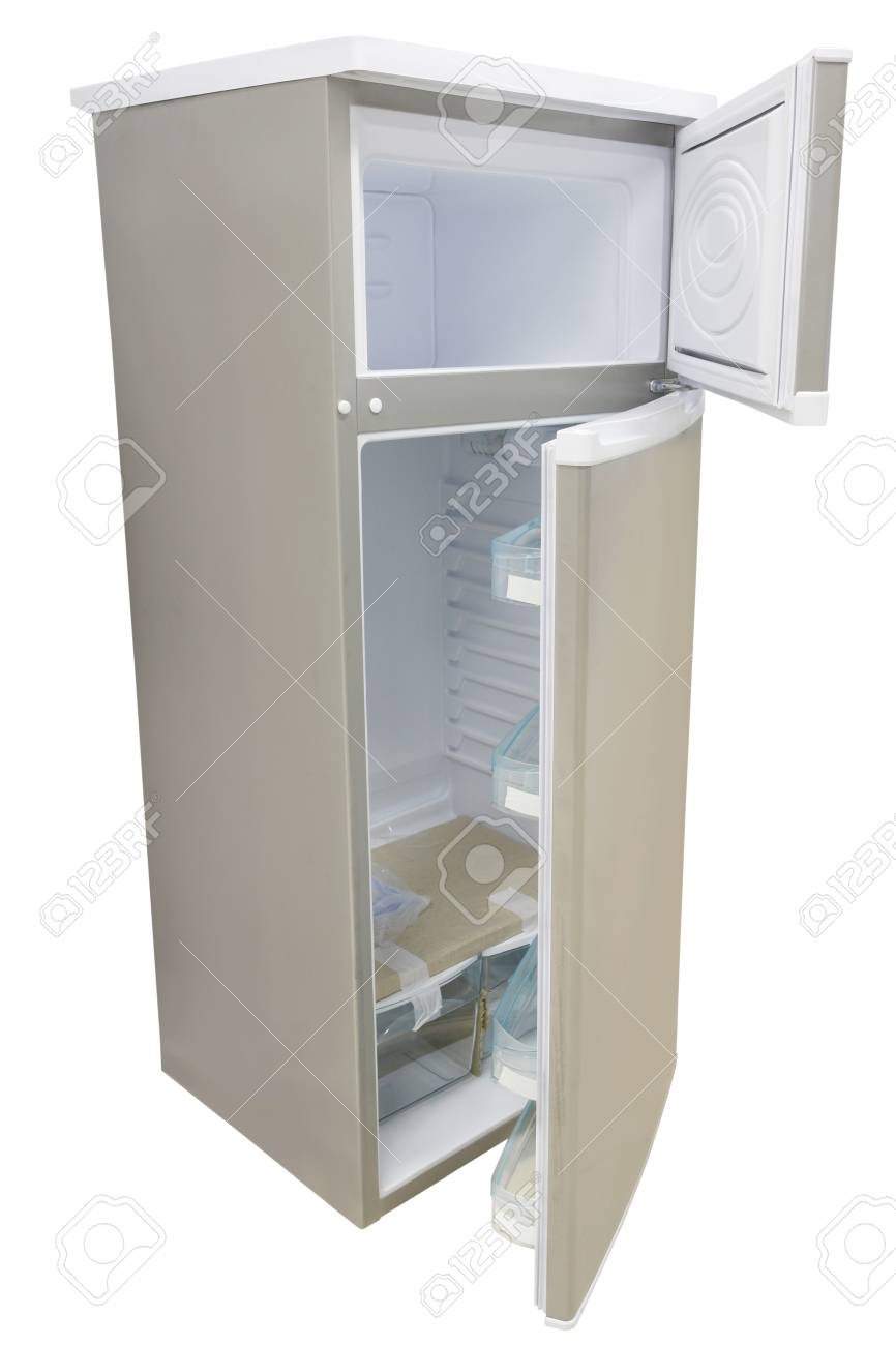 refrigerator under the white background Stock Photo - 20523056