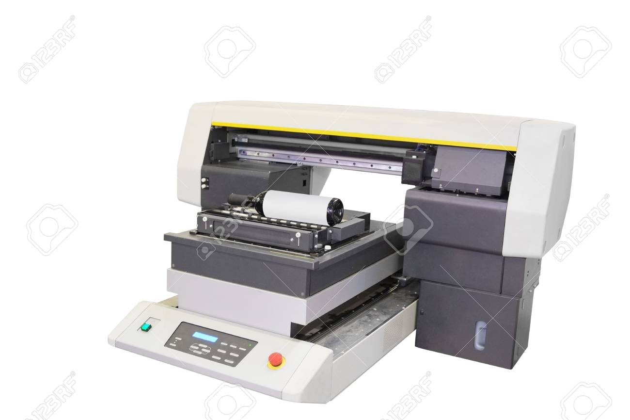 the image of a professional printing machine stock photo picture
