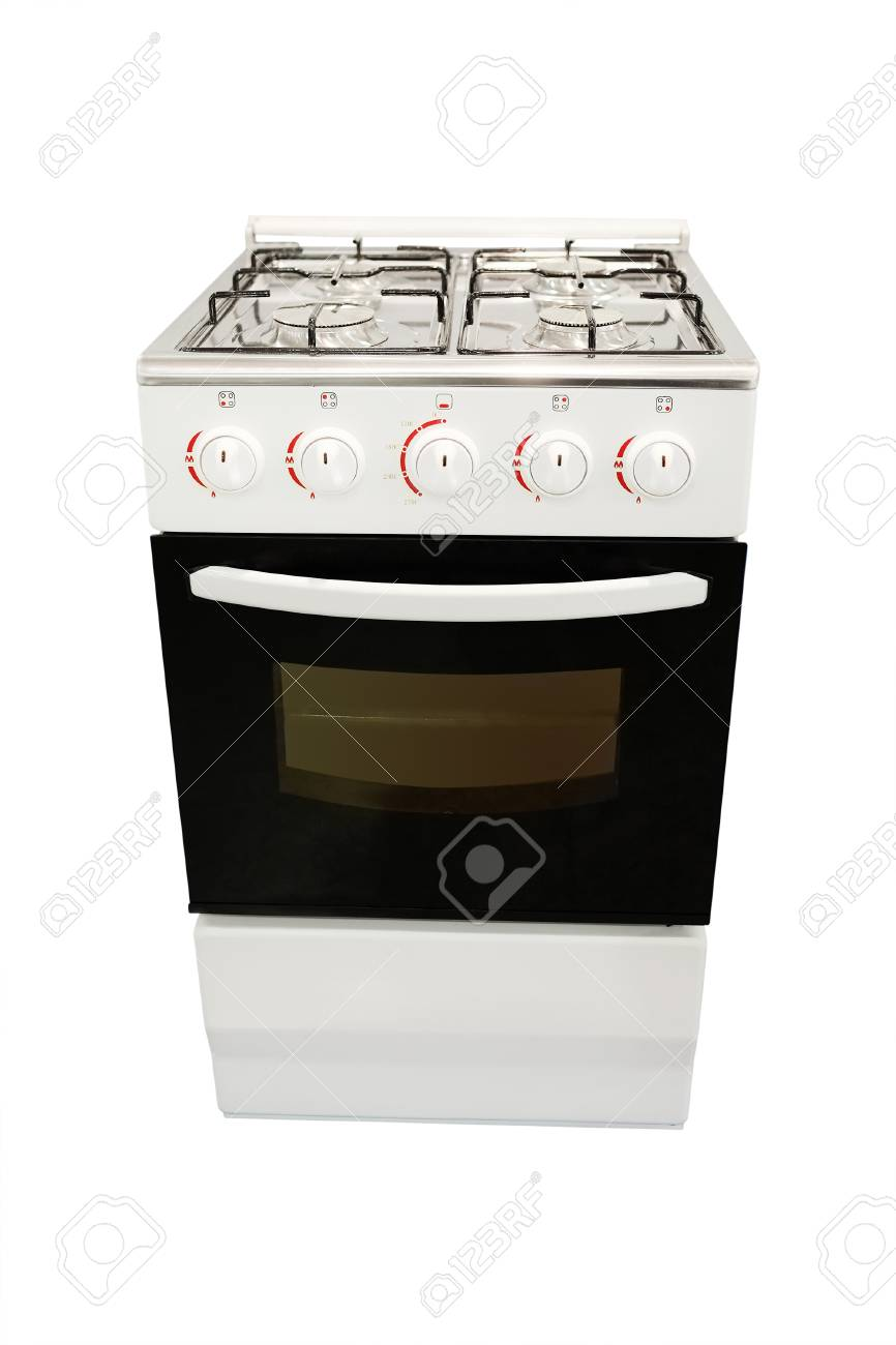 Modern gas stoves Living Room Mage Of Modern Gas Stove Under The White Background Stock Photo 33267900 Rais Mage Of Modern Gas Stove Under The White Background Stock Photo