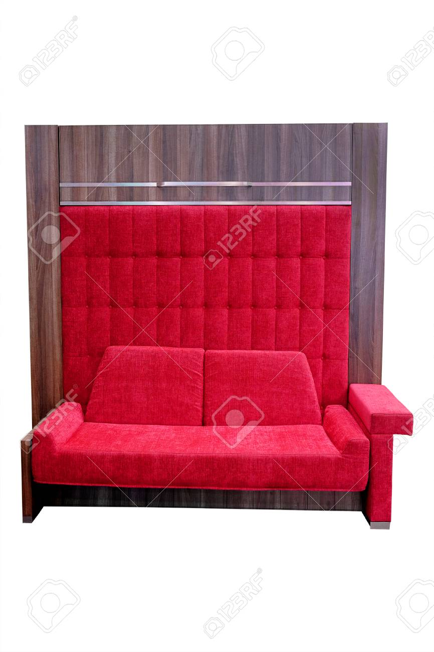 Admirable Sofa With High Back Isolated Under The White Background Ocoug Best Dining Table And Chair Ideas Images Ocougorg
