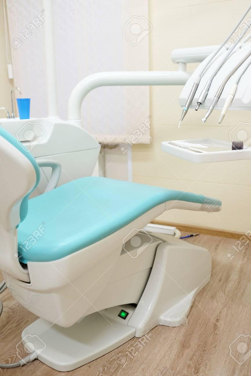 La Chaise De Dentiste Dans Un Cabinet Mdical Banque DImages Et