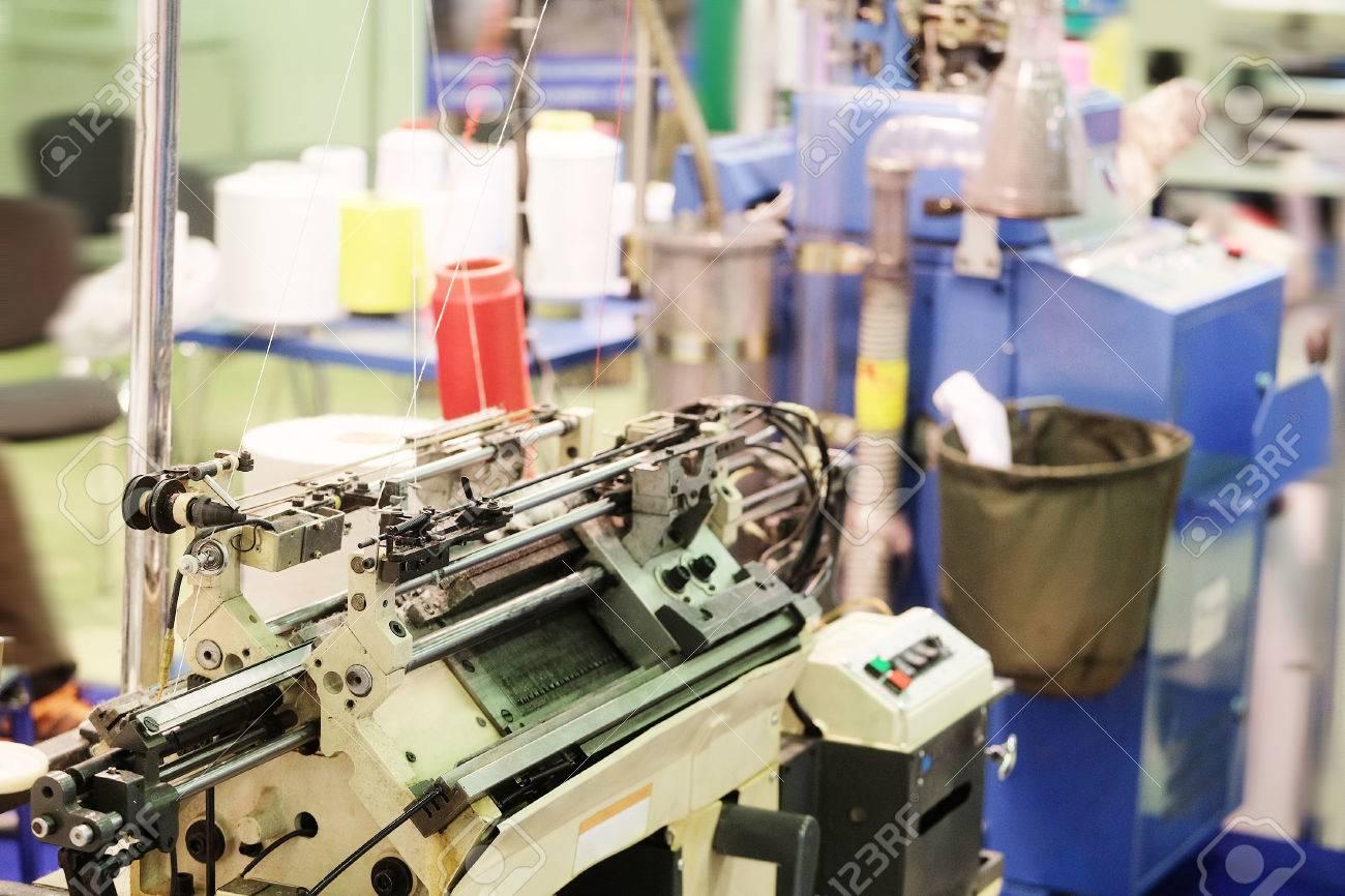 Textile industry - weaving machine