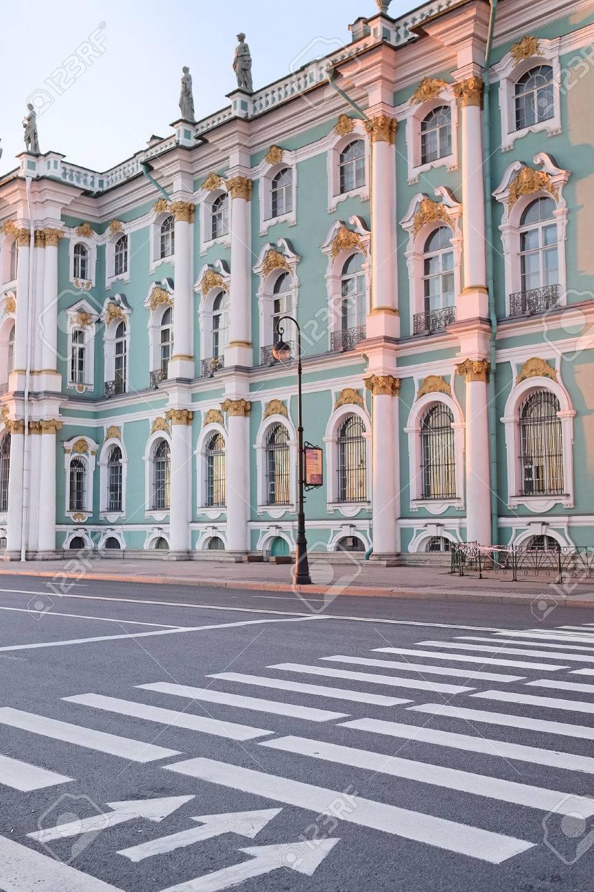 写真素材 , 建物のエルミタージュ美術館、ロシアのサンクトペテルブルク、冬宮殿