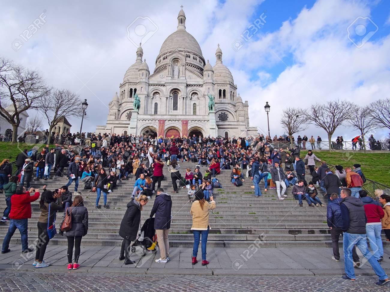 Paris, France, February 6, 2016: The Sacr