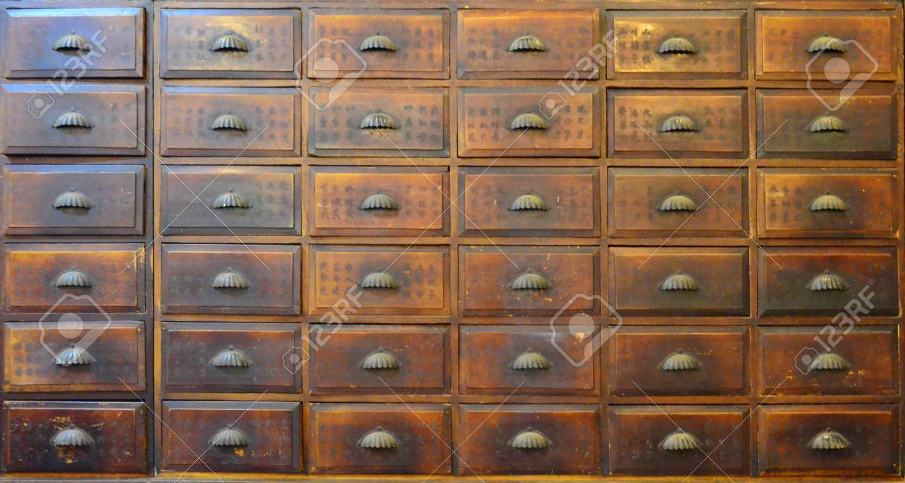 Antique Chinese medicine chest Stock Photo - 77321586 - Antique Chinese Medicine Chest Stock Photo, Picture And Royalty Free