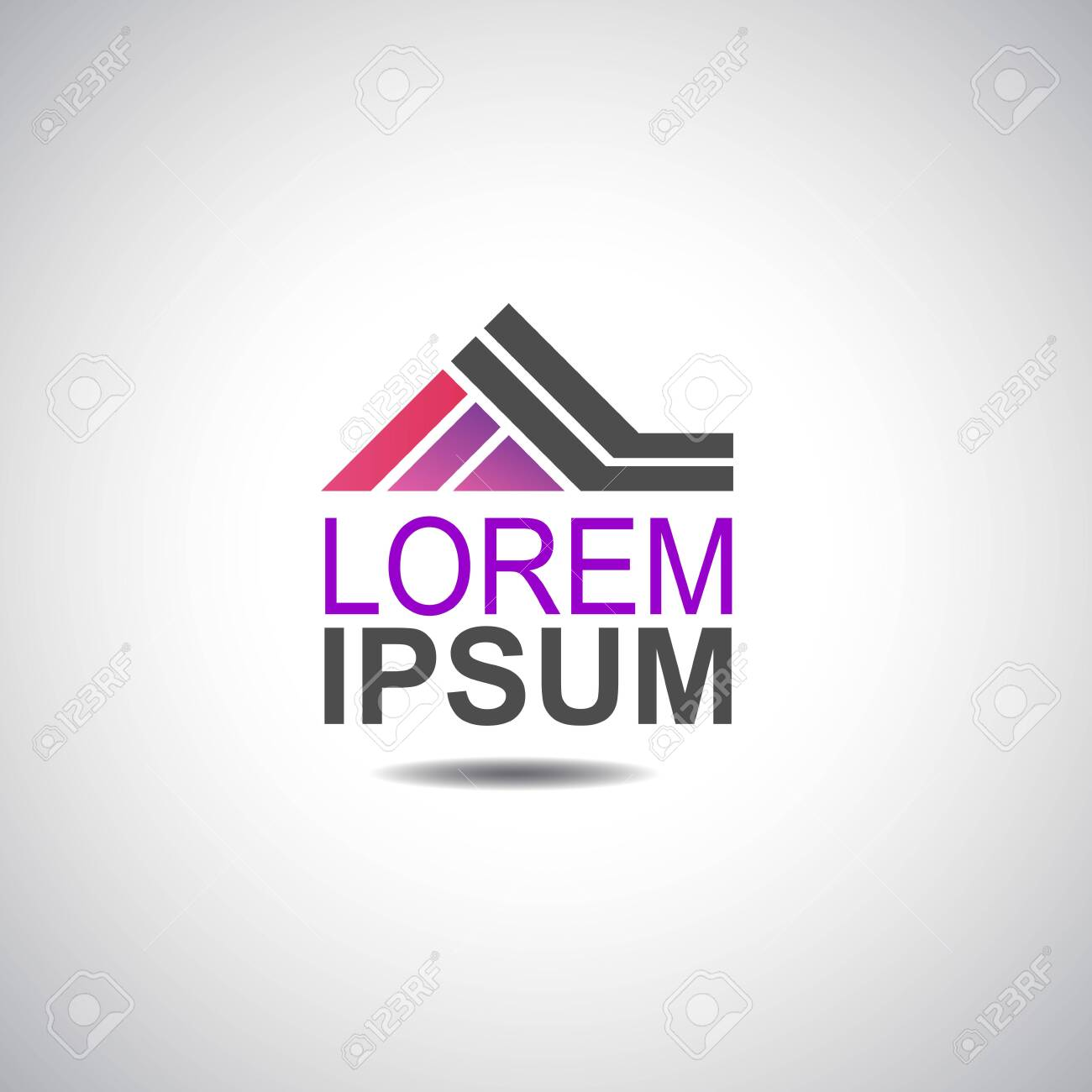House logo for company vector image - 120133287