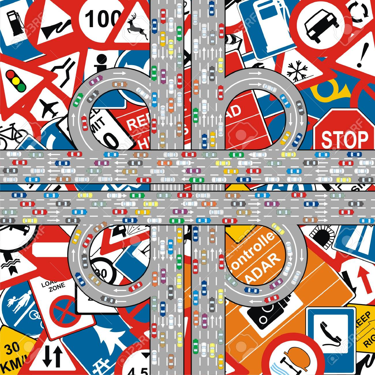 Hwy 100 Traffic