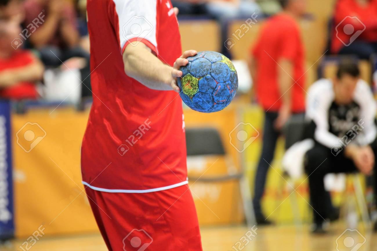 Handball player, close up - 88181363