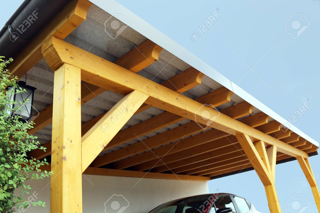 High Quality Wooden Carport