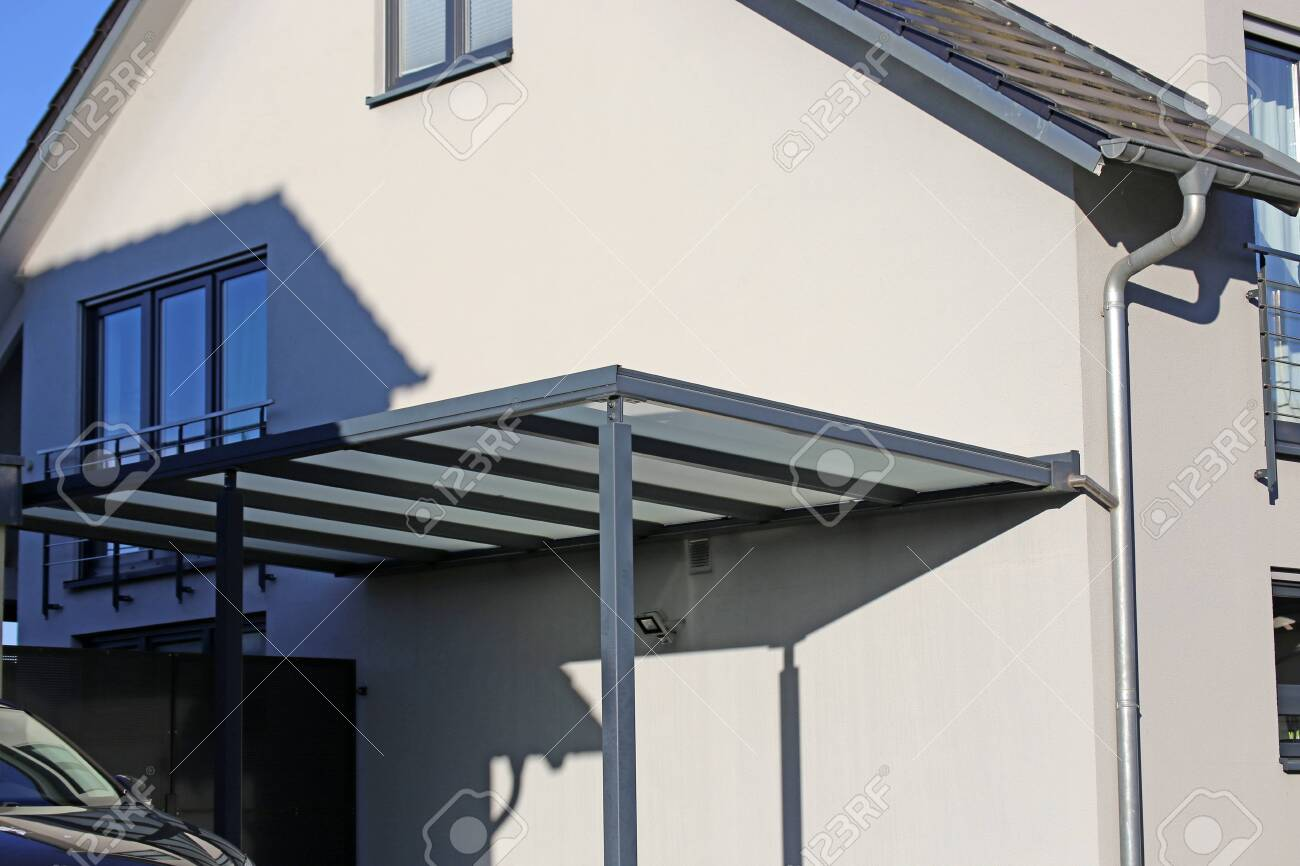 High Quality Aluminum Carport Stock Photo Picture And Royalty