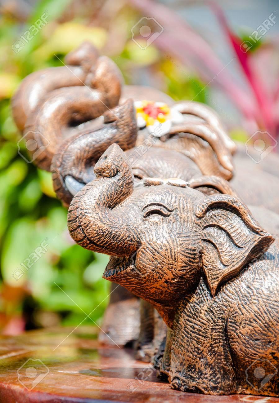 Smiling Elephant Elephants Bringing The Animal Symbol Of Thailand