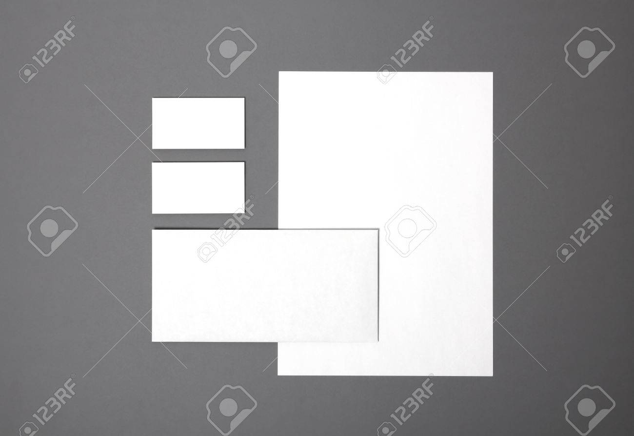 Blank stationery still life with business cards paper envelope blank stationery still life with business cards paper envelope template for branding identity reheart Gallery