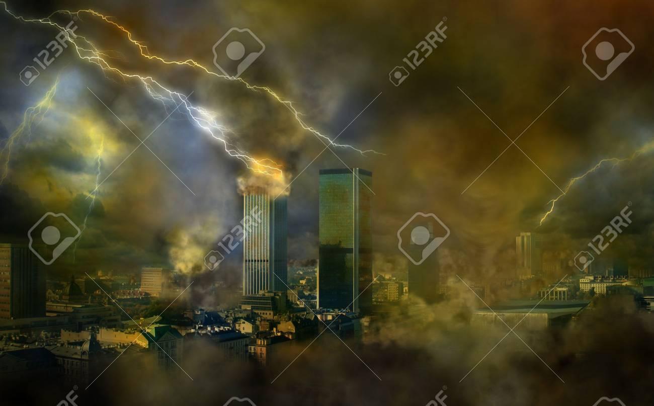 Apocalypse City Fire Apocalypse weather anomalies