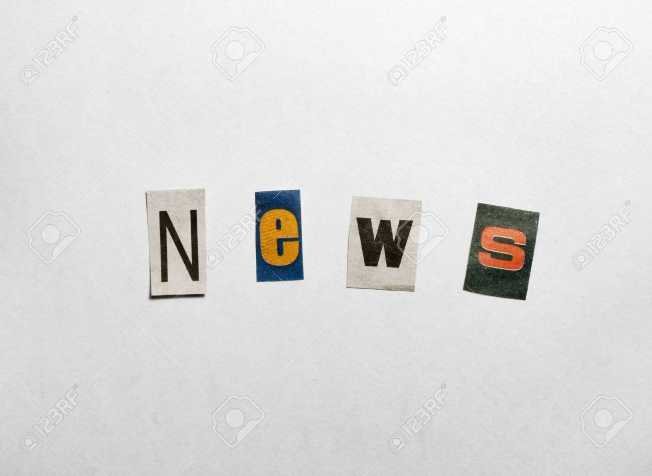 News letters concept Stock Photo - 13739321