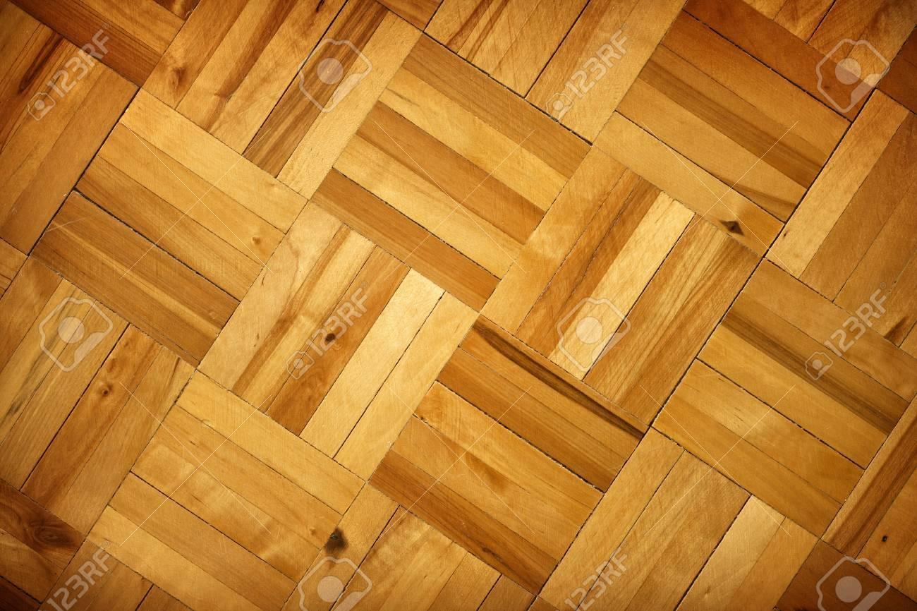 Oude Eiken Vloer : Oude vintage mozaïek houten eiken vloer textuur als achtergrond