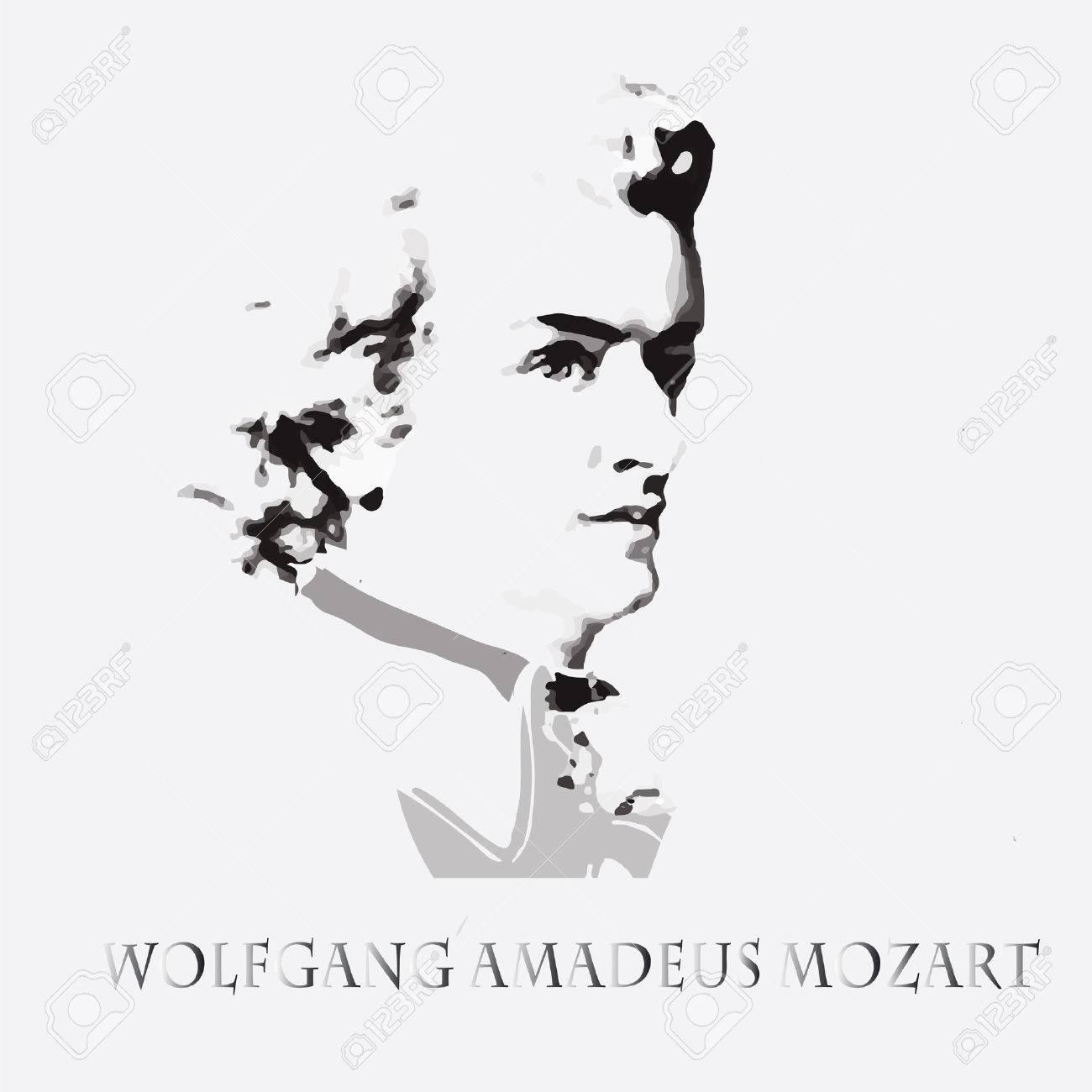 作曲家および音楽家ヴォルフガング アマデウス モーツァルトの