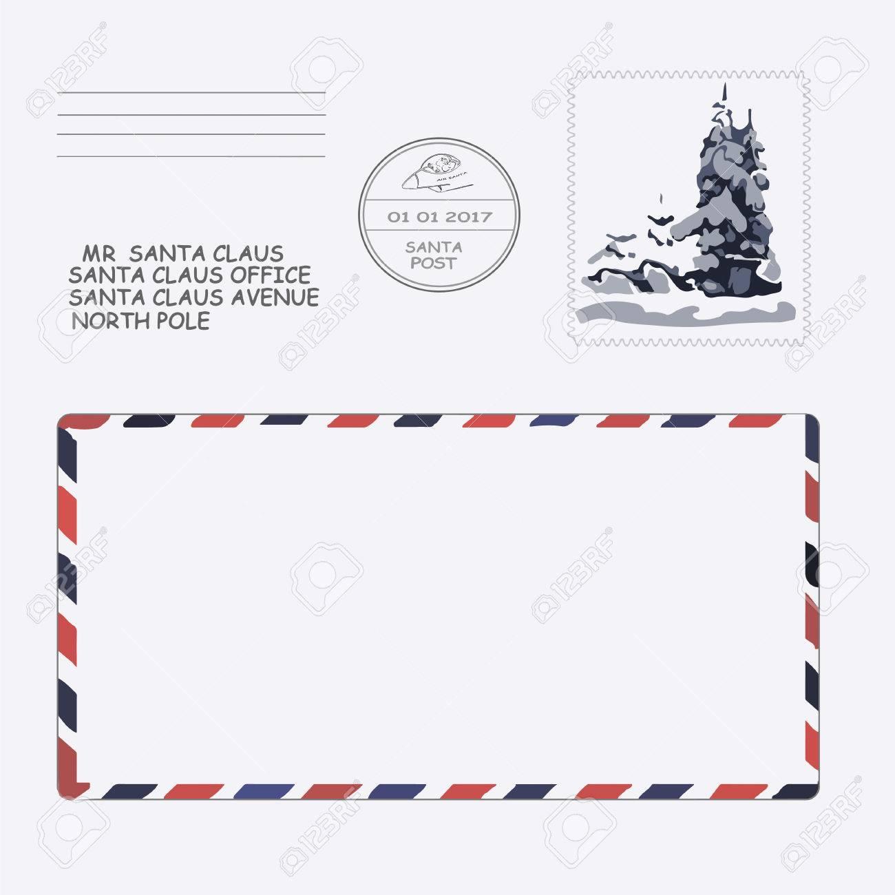 クリスマス サンタ 手紙 テンプレート Paintschainer