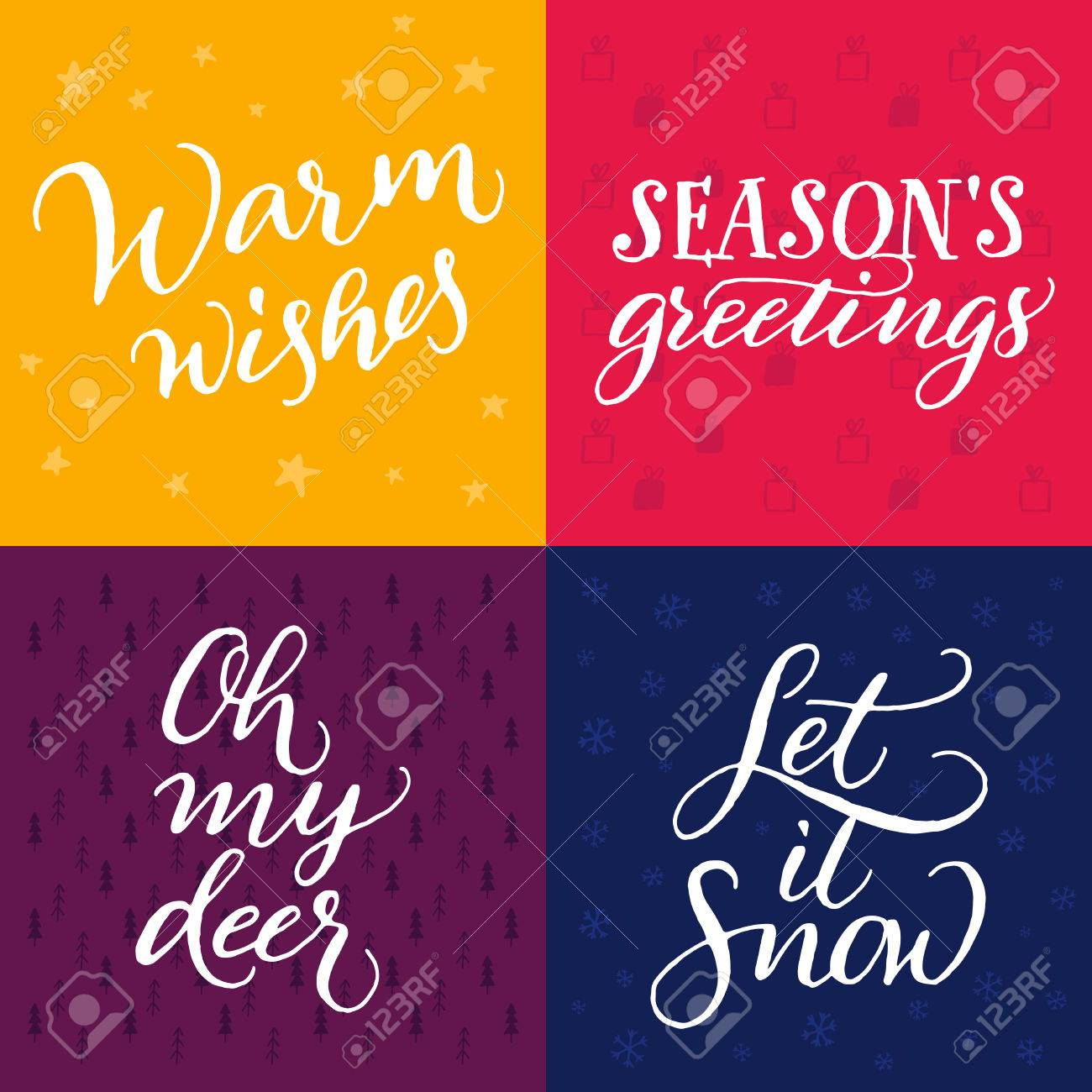 Set of christmas cards warm wishes seasons greetings oh my set of christmas cards warm wishes seasons greetings oh my deer let m4hsunfo