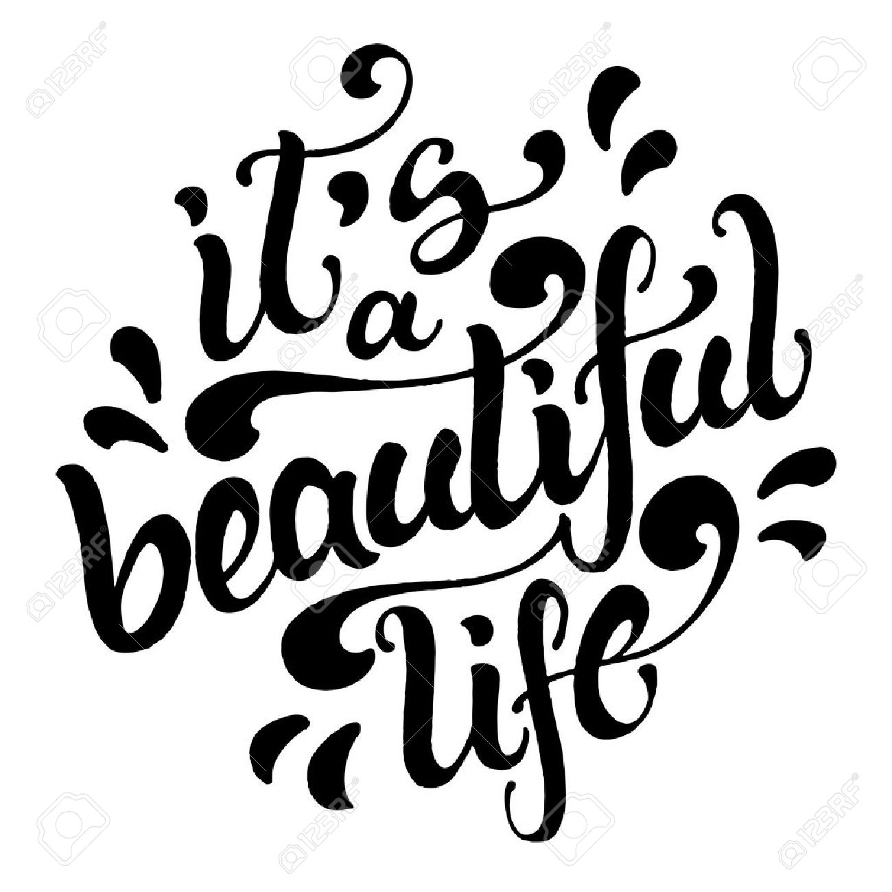 Quote It Inspirational What A Beautiful Life Quotes