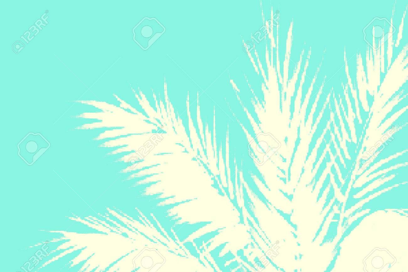Zusammenfassung Tropischen Sommer Hintergrund Illustration Von