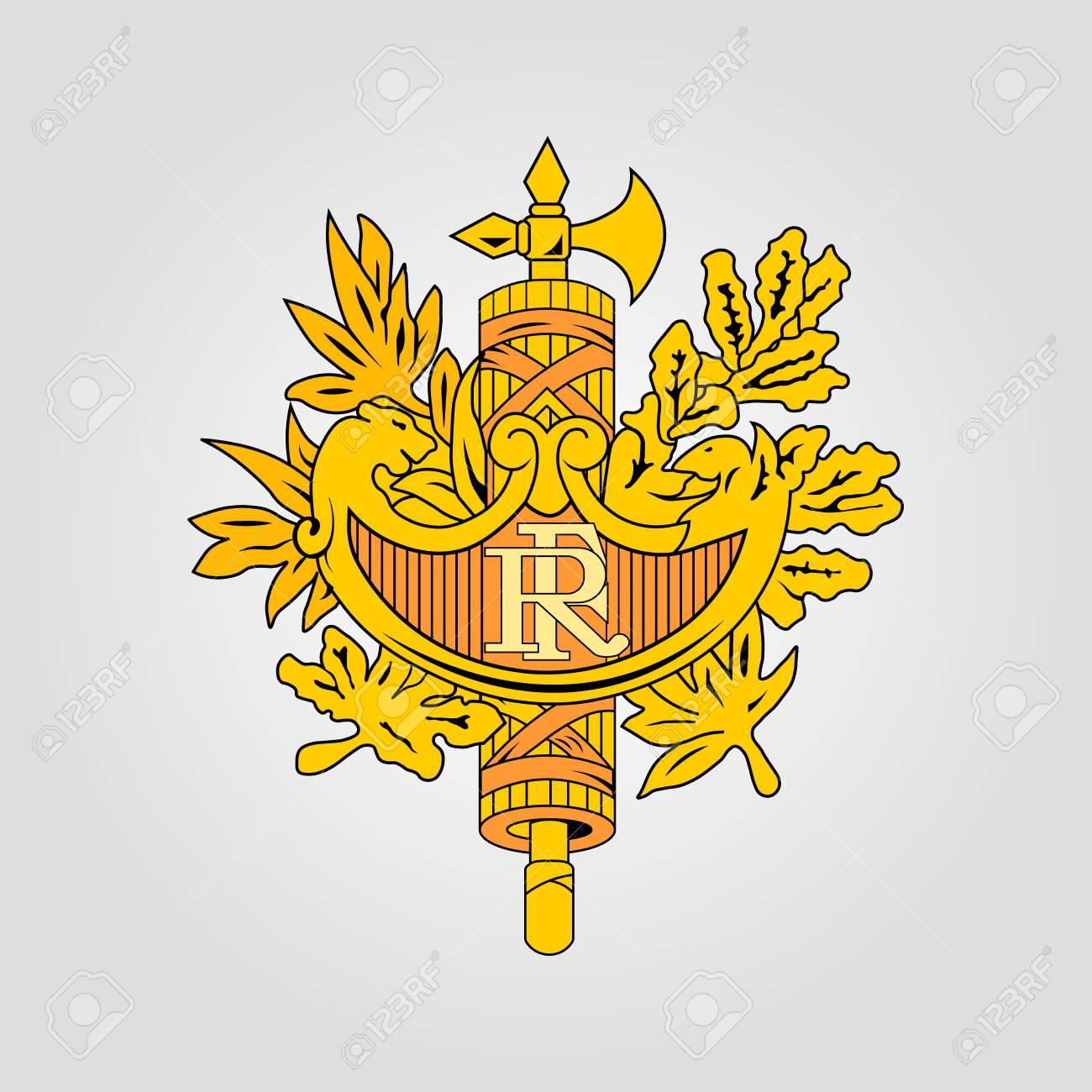 フランスの国章のイラスト素材・ベクタ - Image 82343734.