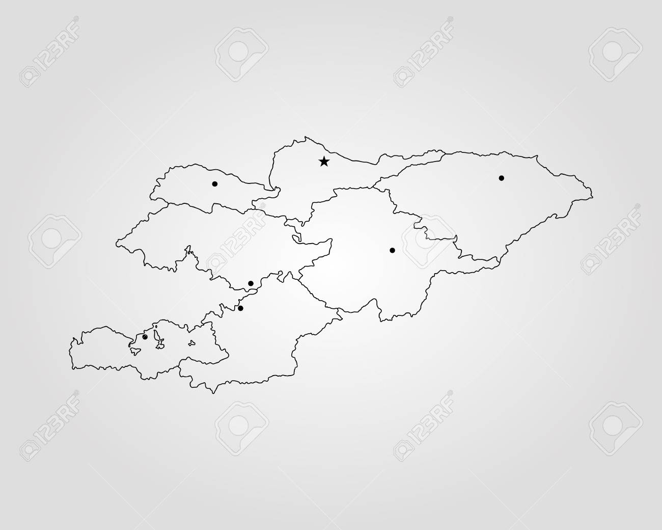 Map of Kyrgyzstan. Vector illustration. World map Kyrgyzstan World Map on russia world map, latvia world map, myanmar on world map, sudan world map, pakistan on world map, spain world map, nepal world map, lebanon world map, laos world map, iceland world map, azerbaijan world map, sierra leone world map, liberia world map, philippines world map, lesotho world map, mongolia world map, romania world map, malaysia world map, uzbekistan world map, somalia world map,
