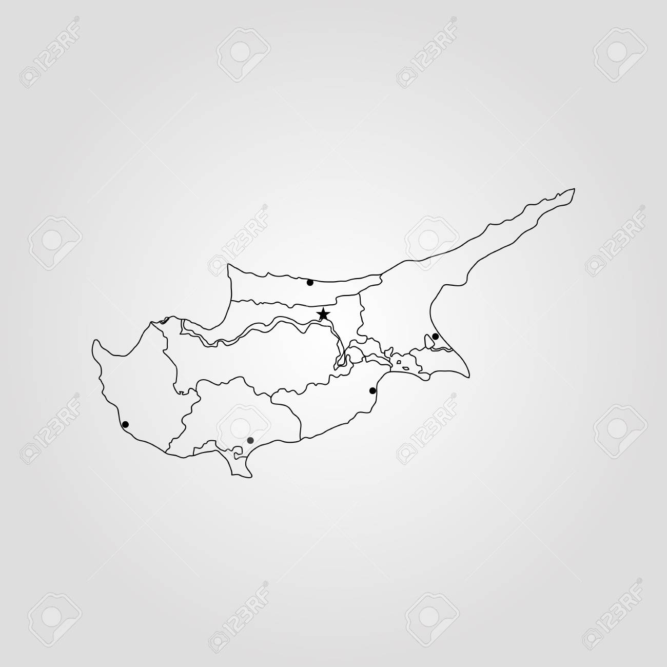 Map of cyprus vector illustration world map royalty free cliparts map of cyprus vector illustration world map stock vector 89750793 gumiabroncs Gallery