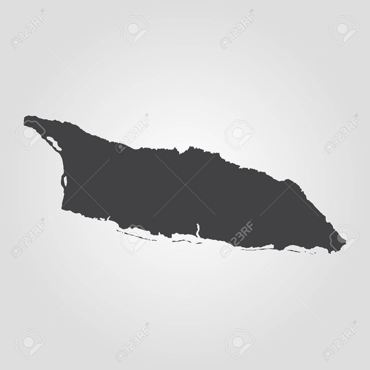 Map Of Aruba. Vector Illustration. World Map Royalty Free Cliparts ...