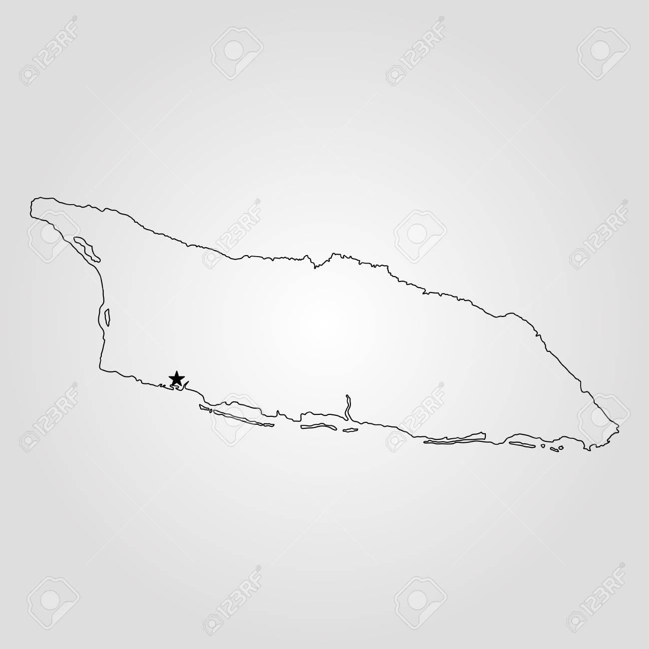 Map Of Aruba Vector Illustration World Map Royalty Free Cliparts