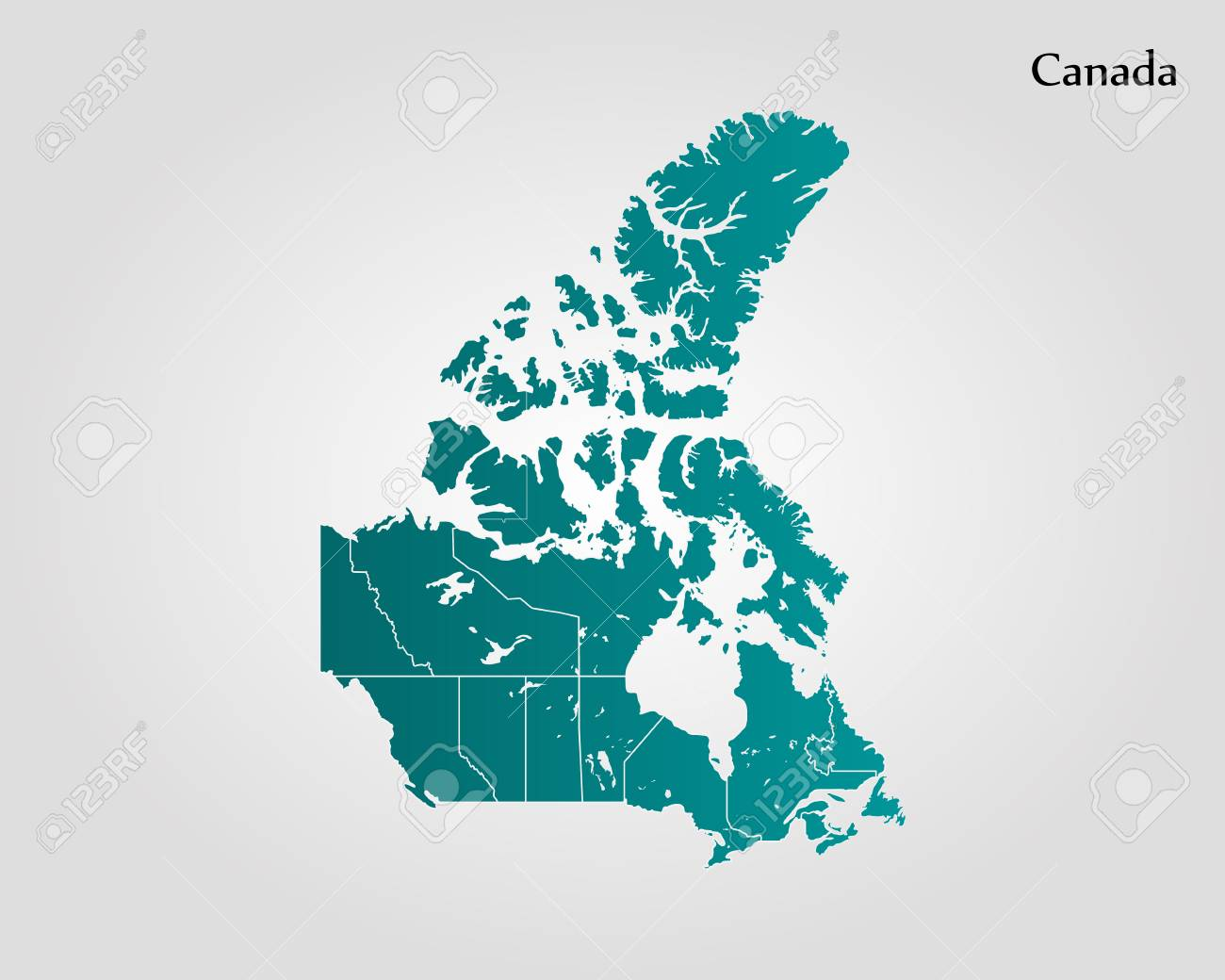 Map of canada vector illustration world map ilustraciones foto de archivo map of canada vector illustration world map gumiabroncs Image collections