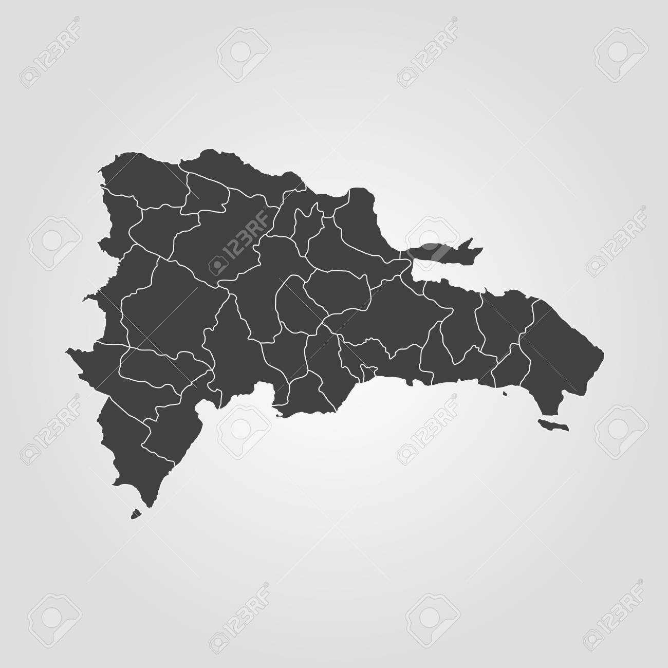 Map of dominican republic vector illustration world map royalty map of dominican republic vector illustration world map stock vector 92712845 publicscrutiny Choice Image
