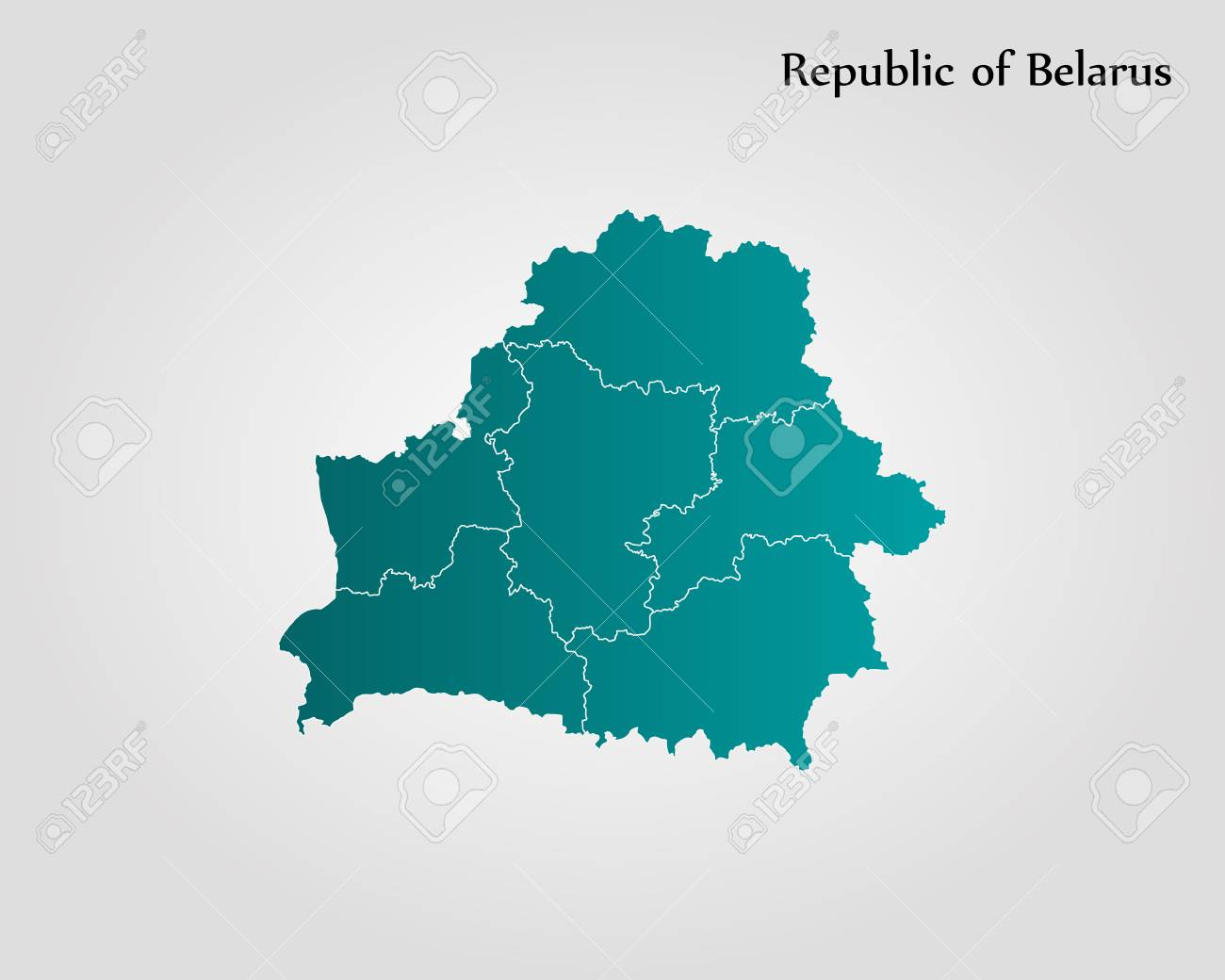 Map Of Belarus Vector Illustration World Map Royalty Free Cliparts