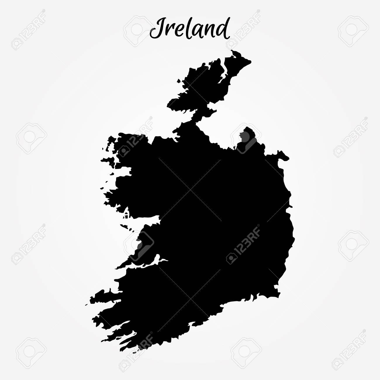 Map Of Ireland Vector.Map Of Ireland Vector Illustration World Map